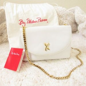 VINTAGE • Paloma Picasso Leather Chain Crossbody